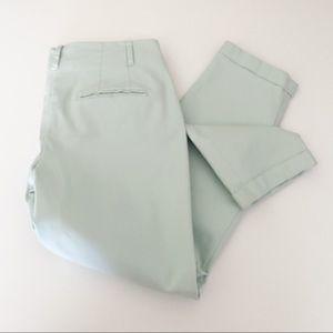 Boden dress pants tapered light blue/green